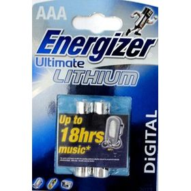 Energizer Energizer Ultimate Lithium Aaа - L92 Dfb2  Aaa Aaa*2