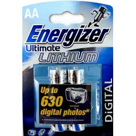 Energizer Energizer Ultimate Lithium Aa - L91 Dfb2  Aa Aa*2
